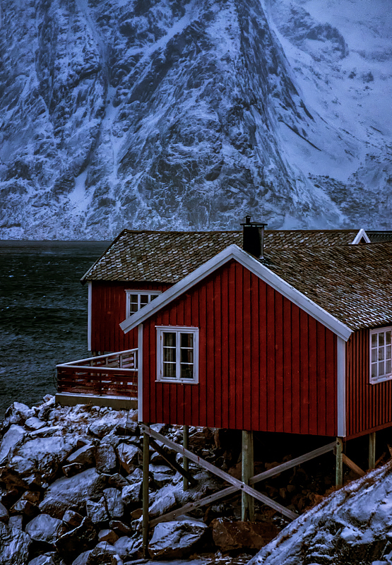 Fishing Hut, Lofoten, Norway