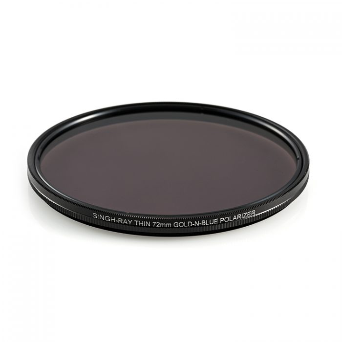LB Gold-N-Blue Polarizer with Thin Ring