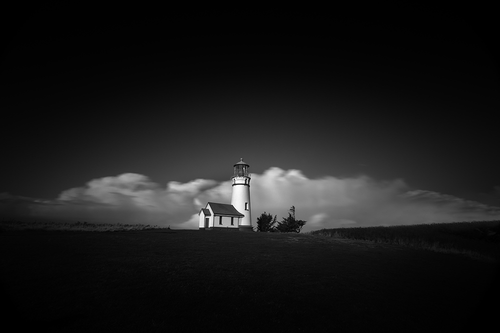 2014-10-13 Lighthouse, Cape Blanco AFTER TREES REMOVED