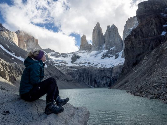 Maggie at Torres Del Paine, Without Filter(s)